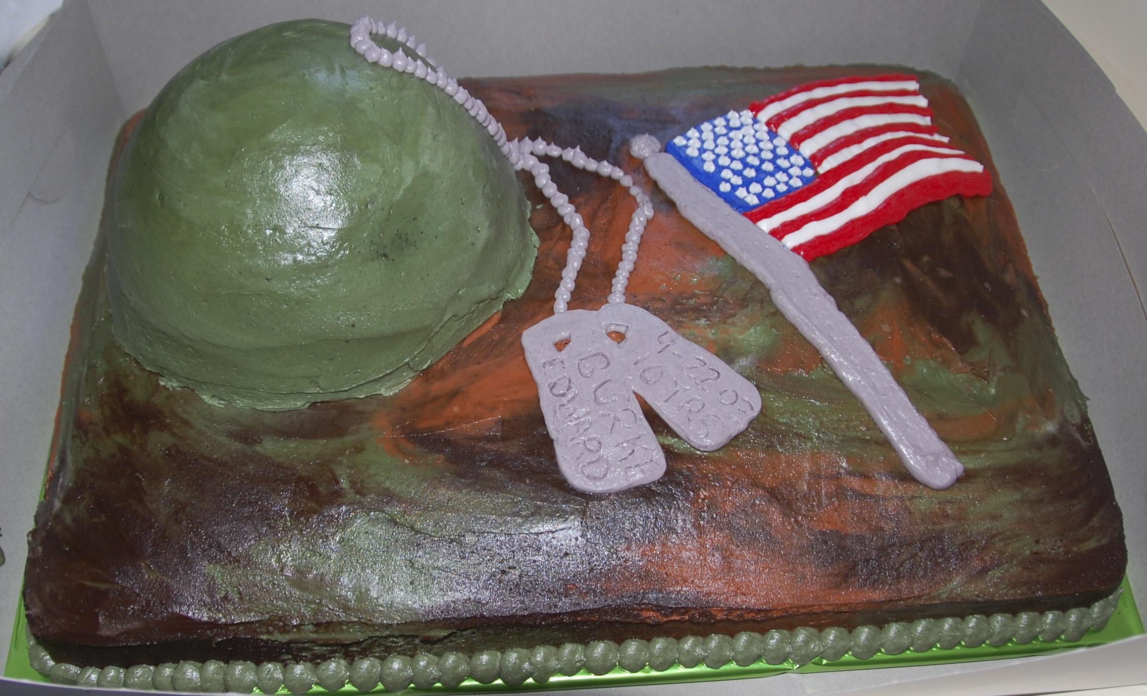 Burke's cake