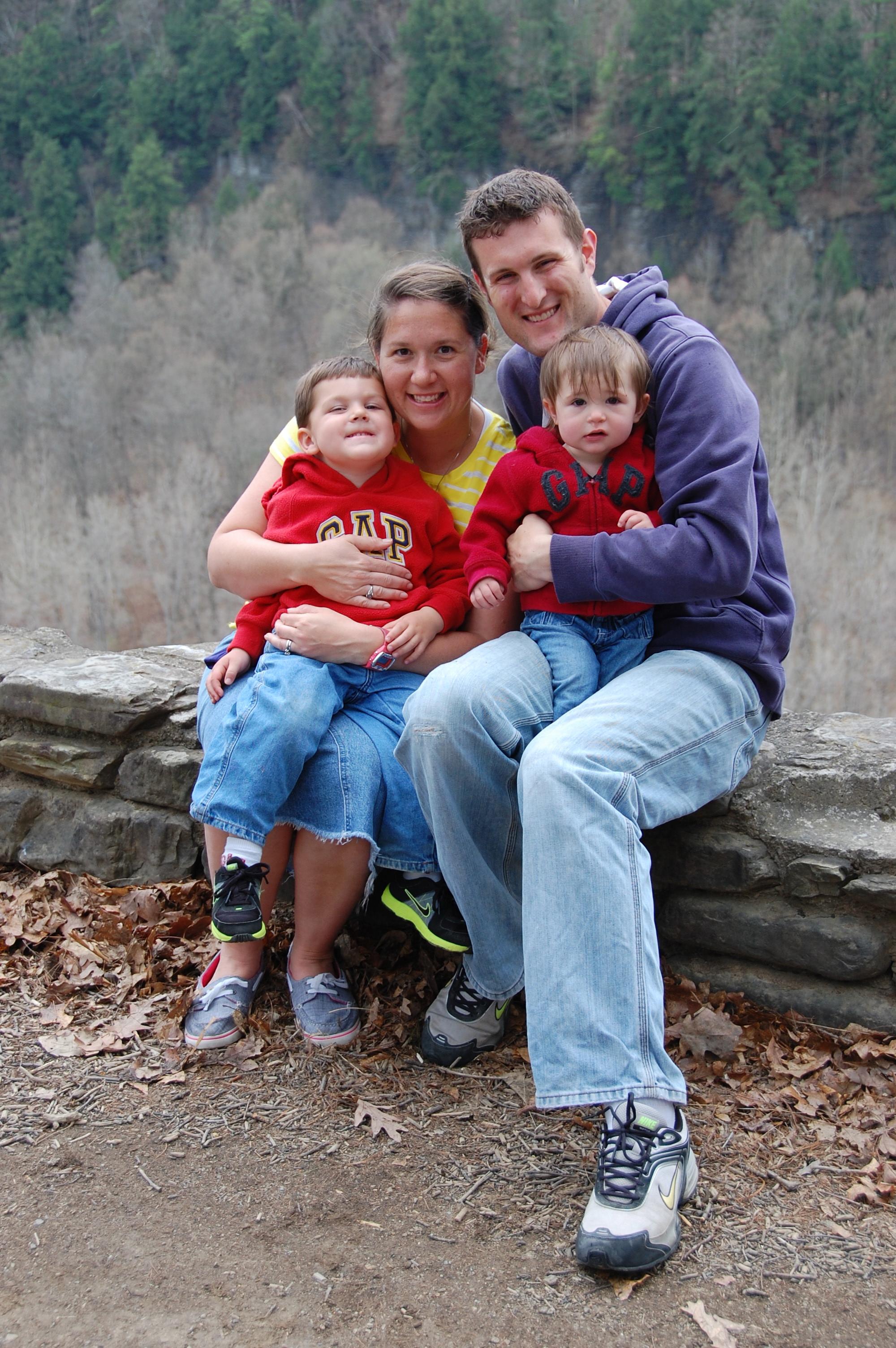 Nate, Cheree, Camron, & Madison Seaborn