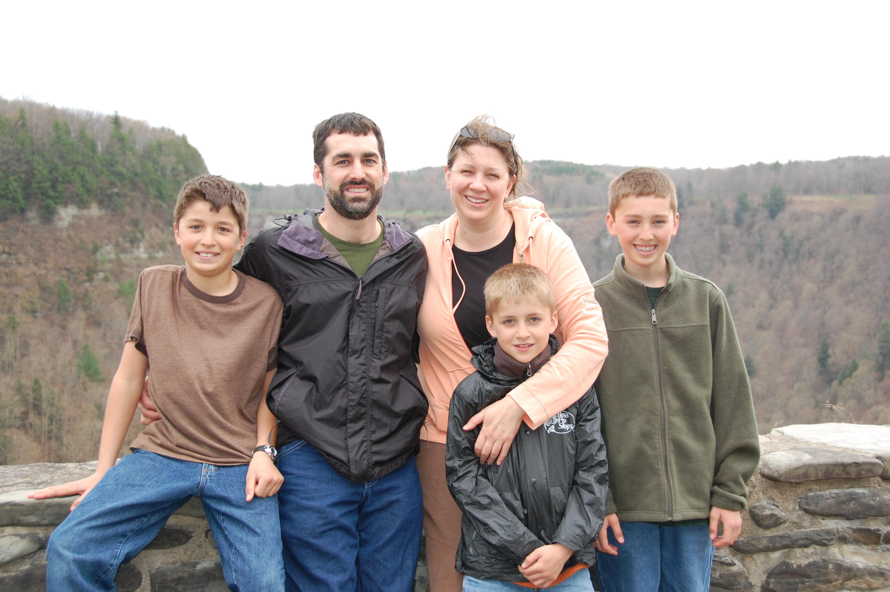 Rich, Tammi, Shea, Gage, & Trey Wilson