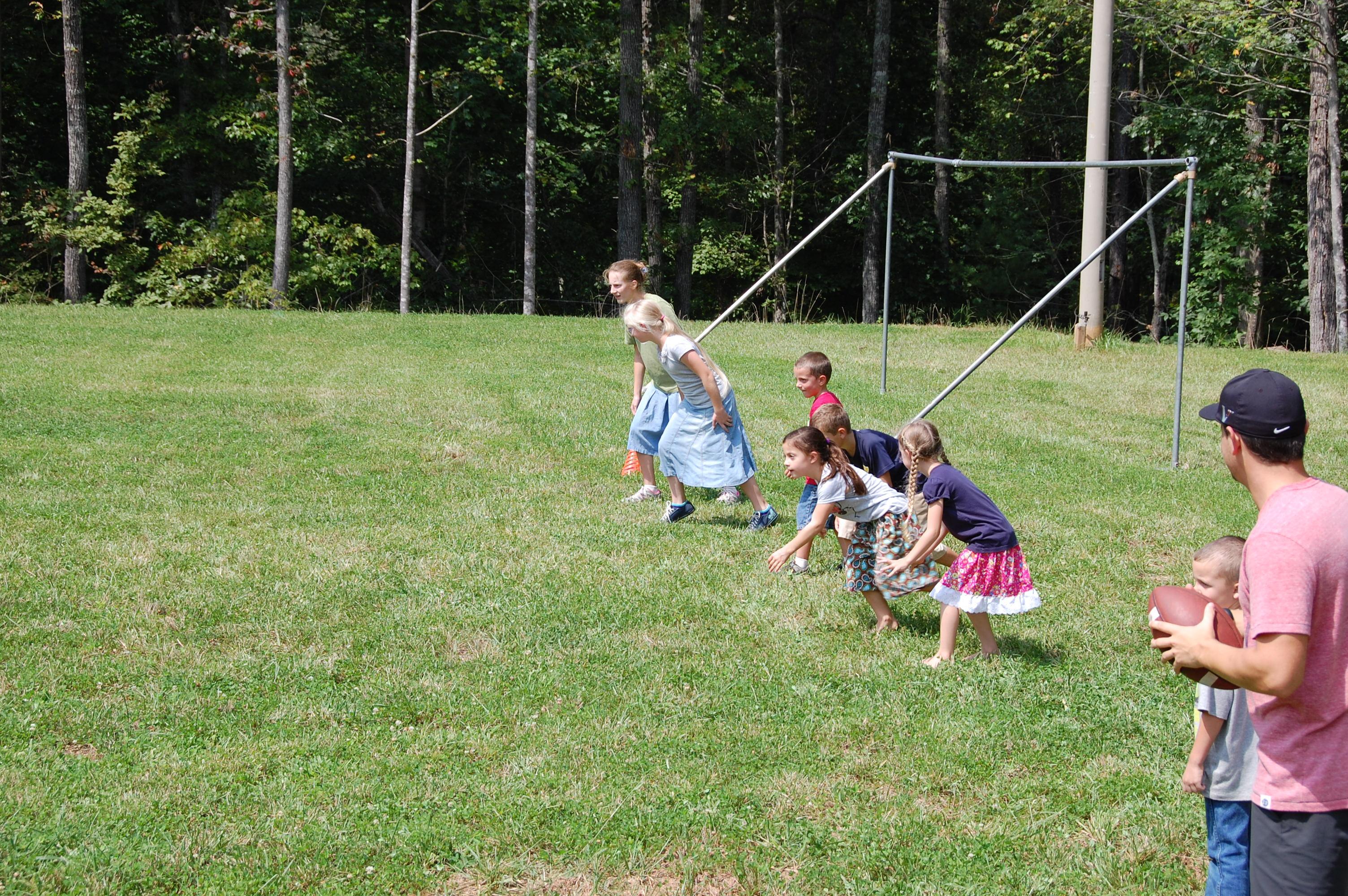 Kids Line up