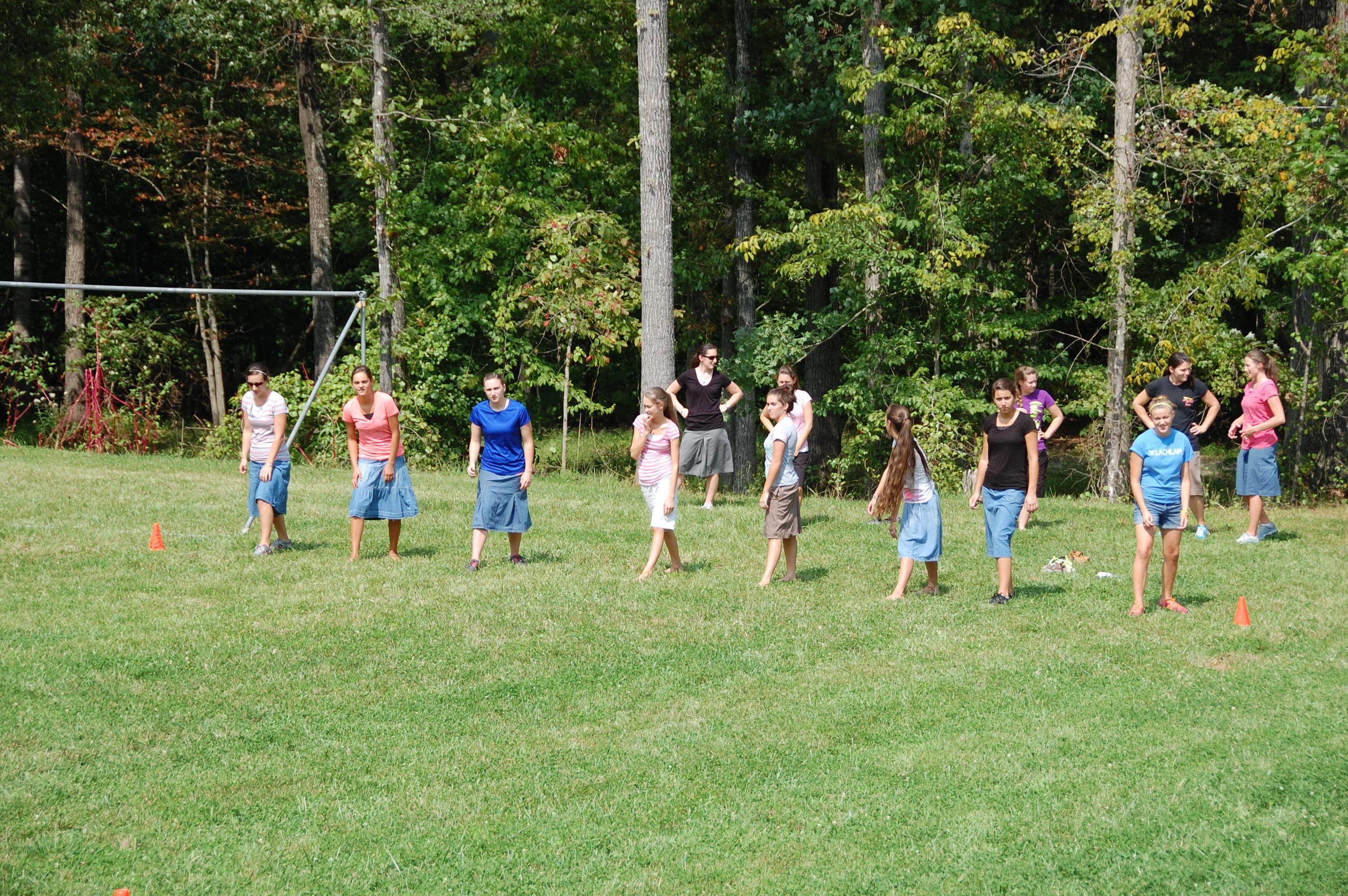 Girl's Runners #1: Brooke Seaborn, Shauna Rutt, Emily Steince, Mia Boyd, Erica Balderson, Bethany Corle, Rebecca Daigle, Connie Cotten