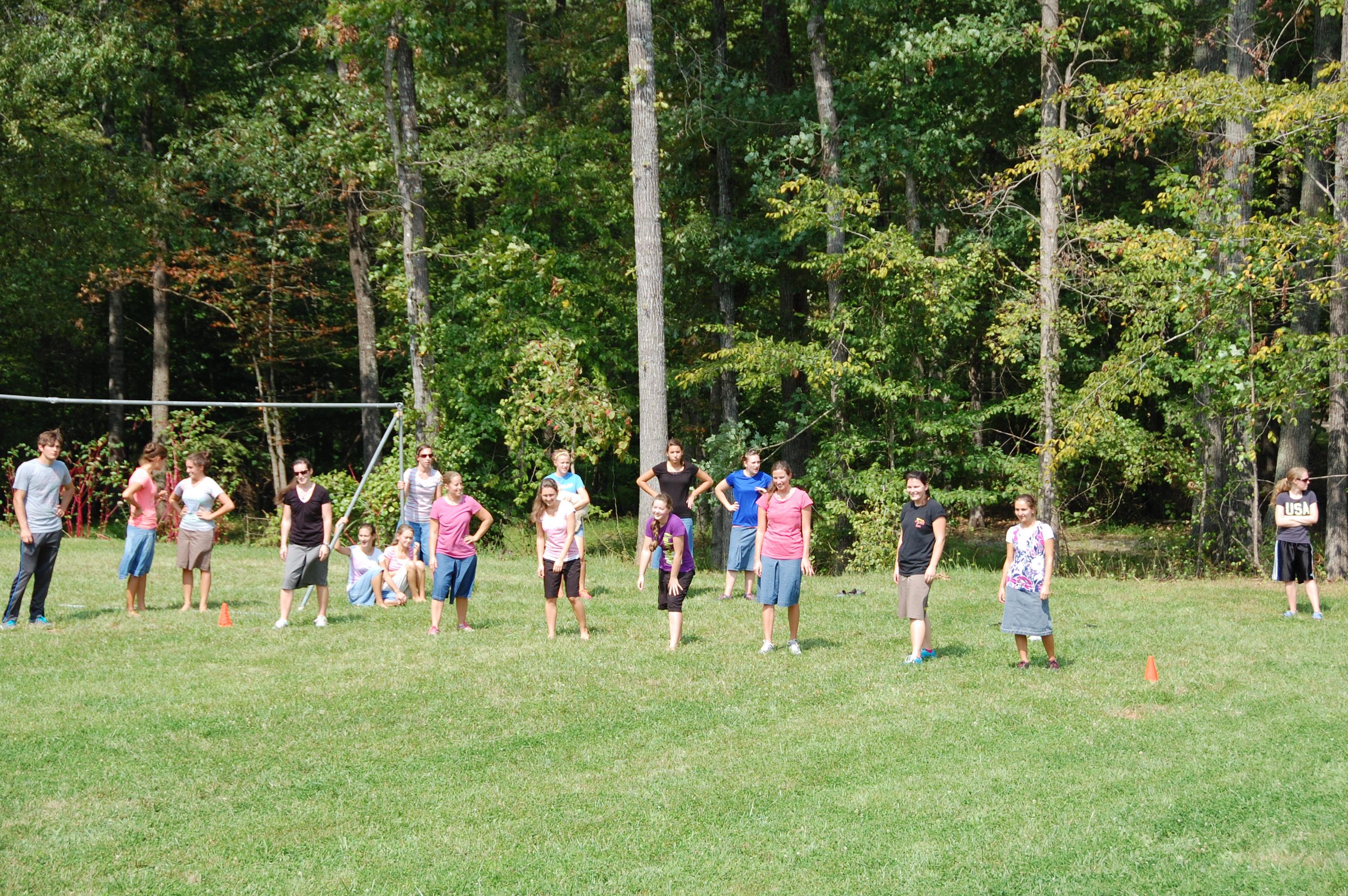 Runners #2: Julie Seaborn, Jana Corle, Kaitlin Boyd, Bronwyn Cotte, Brittney Balderson, Kristen Clem, Callie Patton