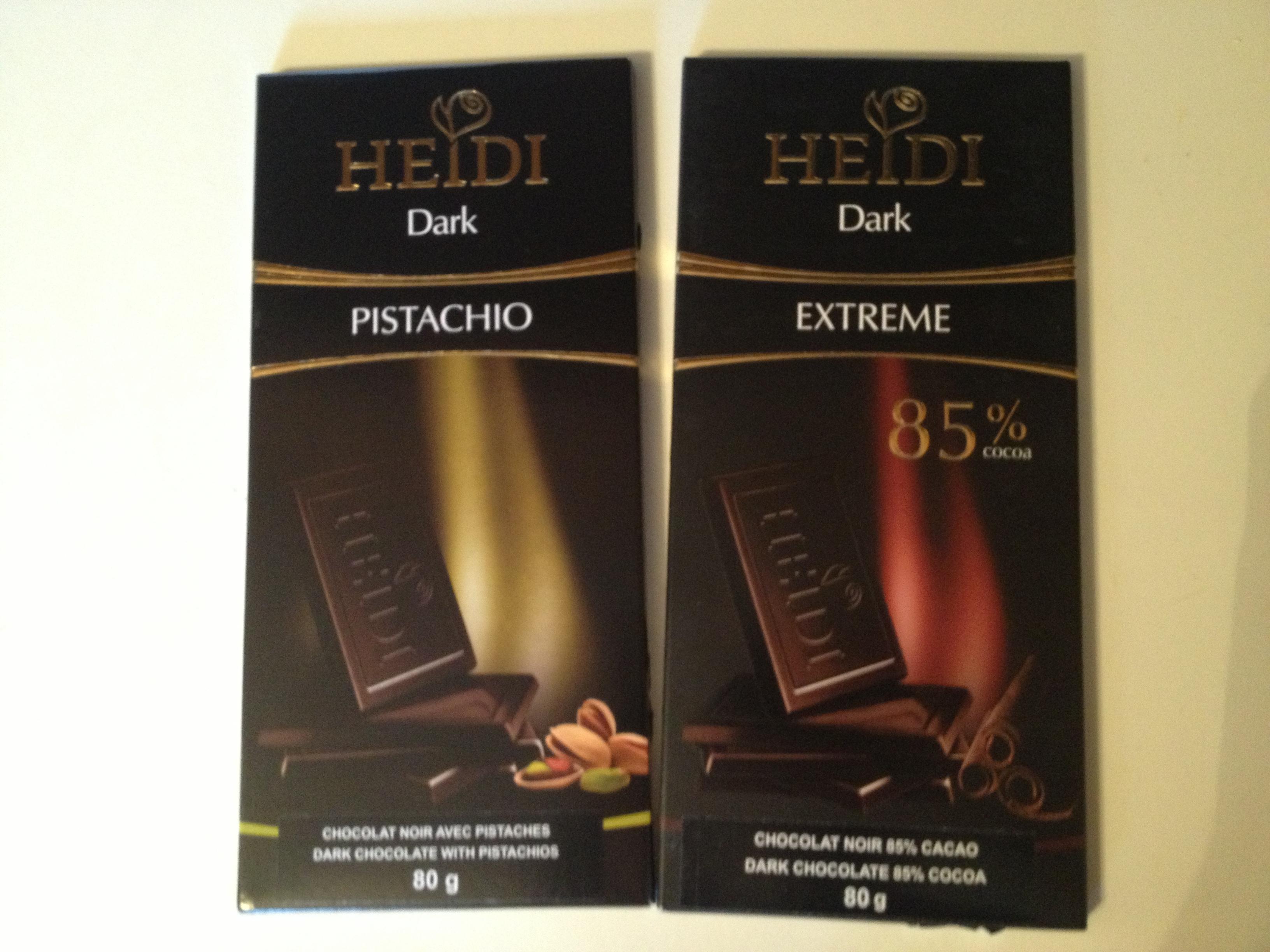 Heidi brand Chocolate!