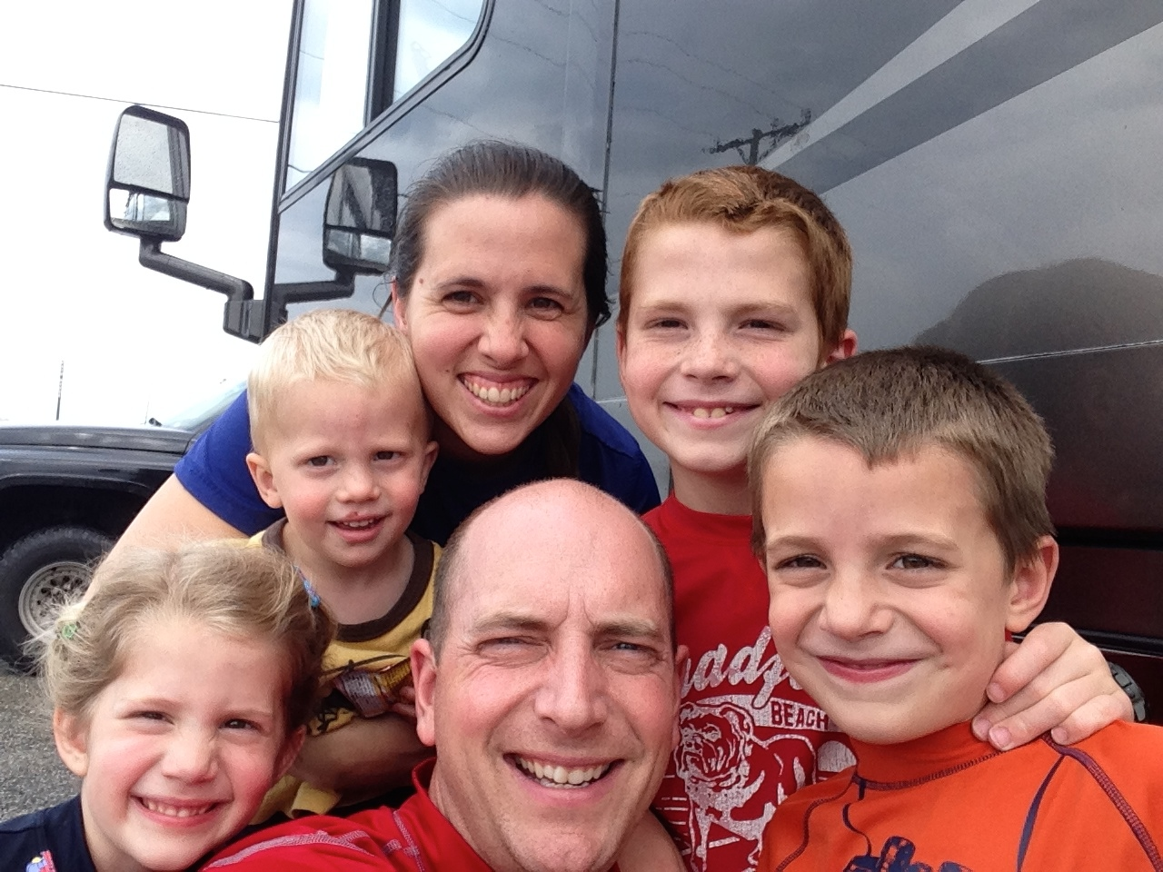 Our first trip in the motorhome!