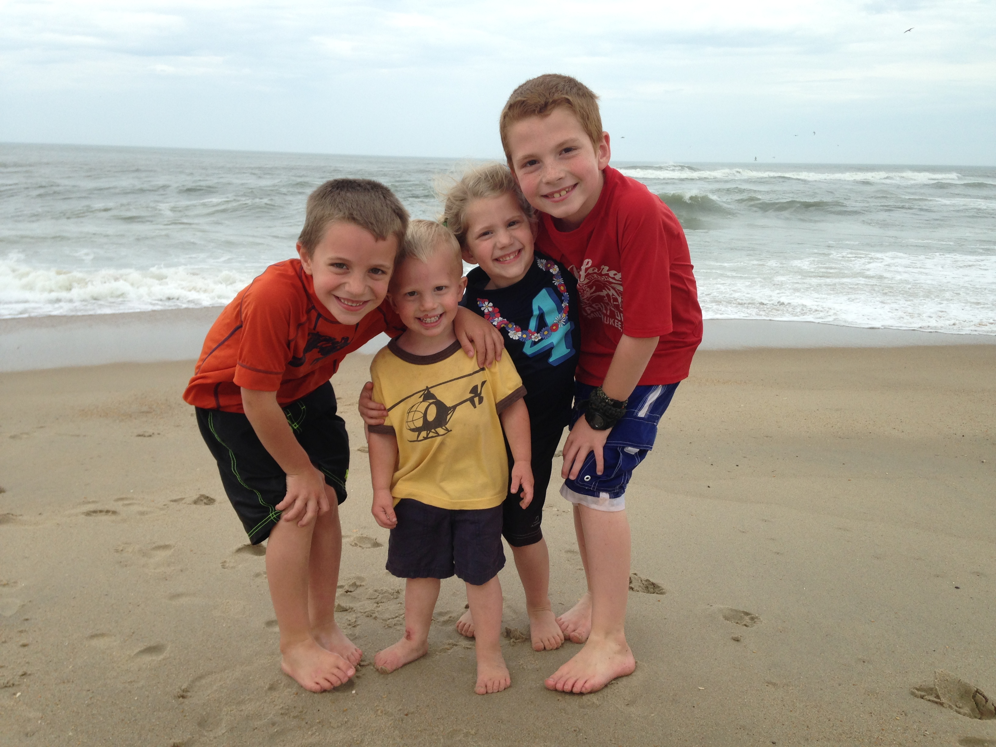 Our 4 beautiful kids!
