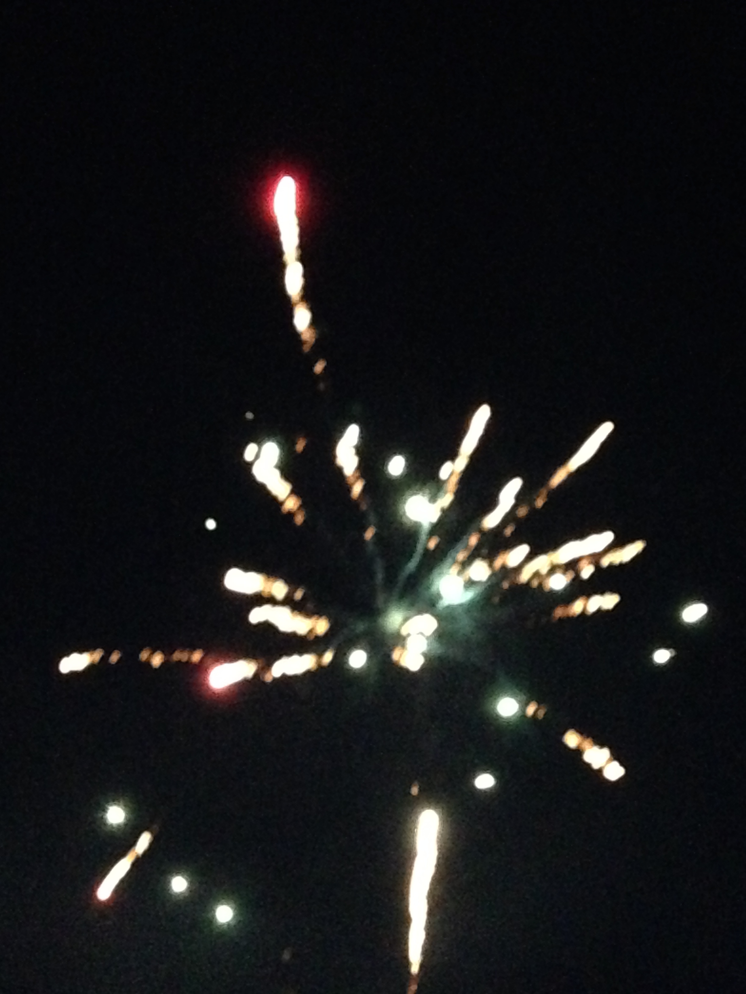 I wished I knew how to take firework pictures.