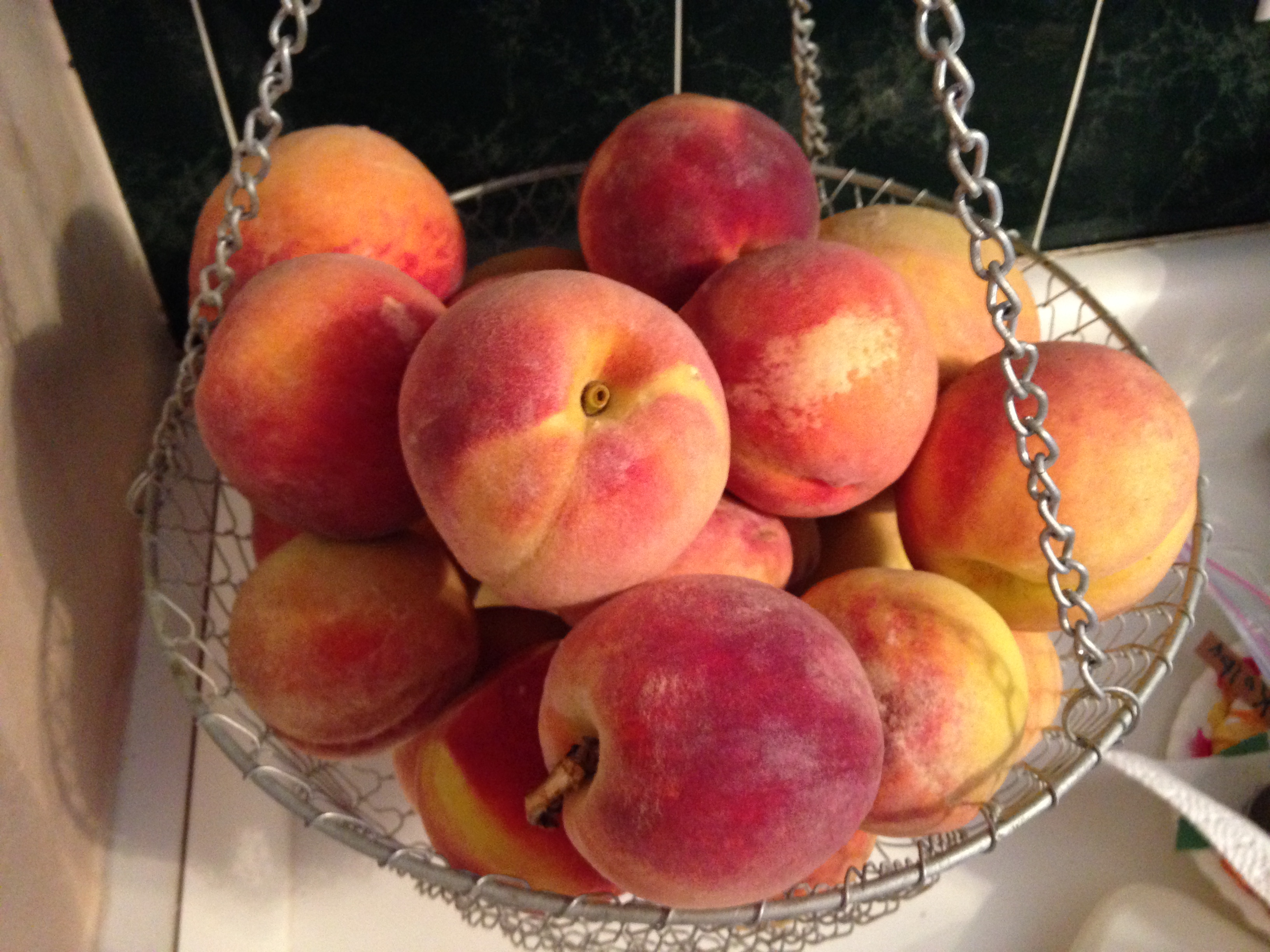 Yummy Fresh Peaches!