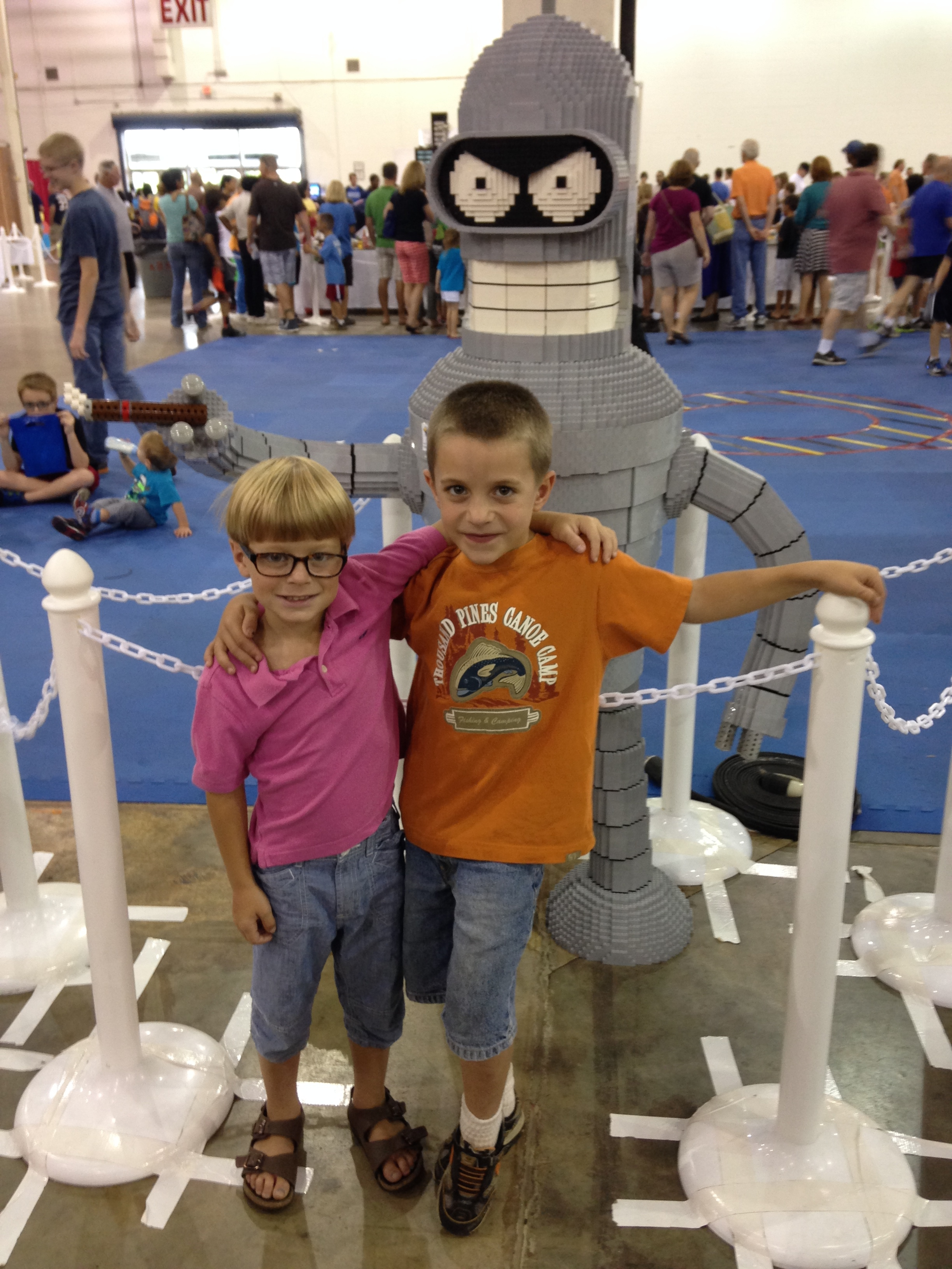 Leyton & Bryant by the Lego Robot.