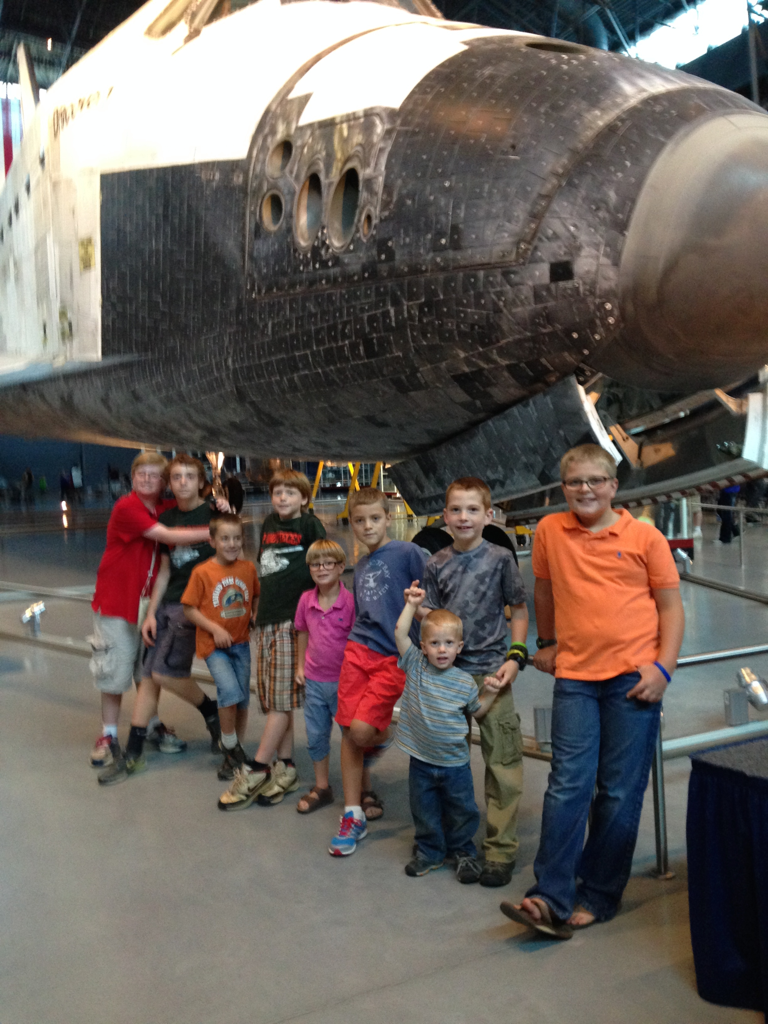 At the Air & Space Museum