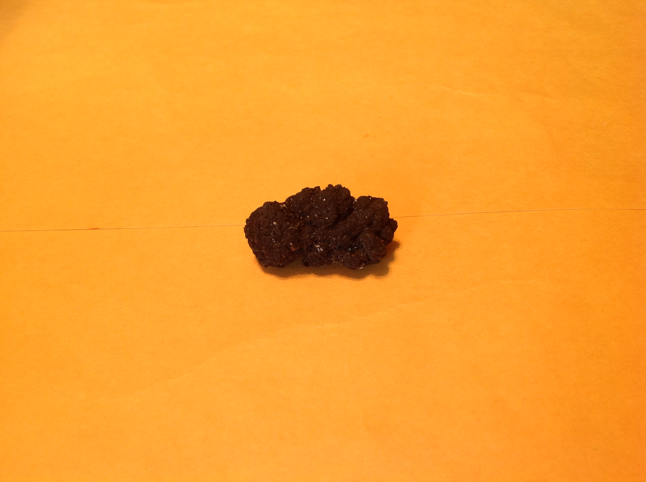 A piece of rubber from a race car tire!