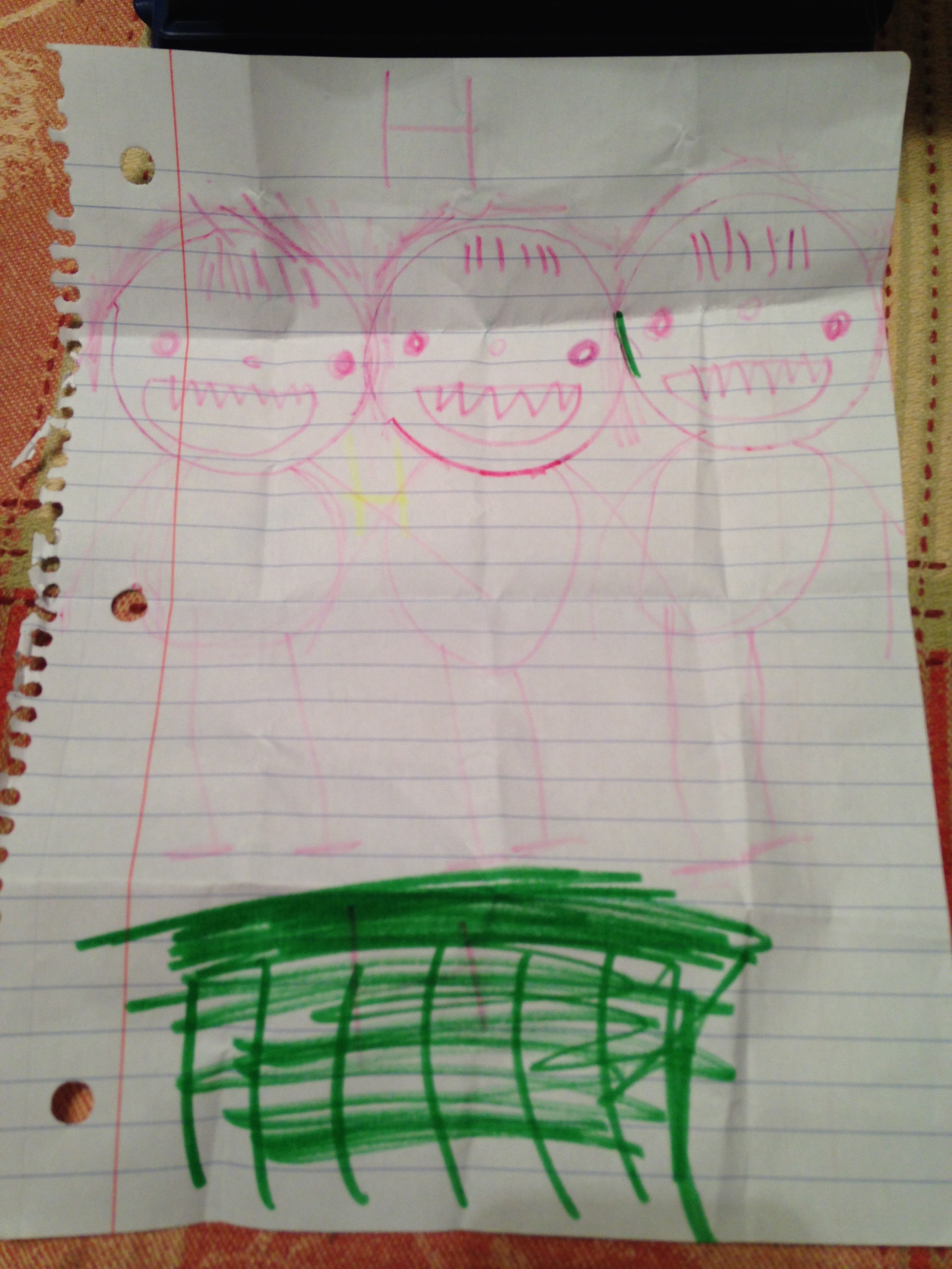 Nittie, Casey & I in the grass-by Kaylin Hull